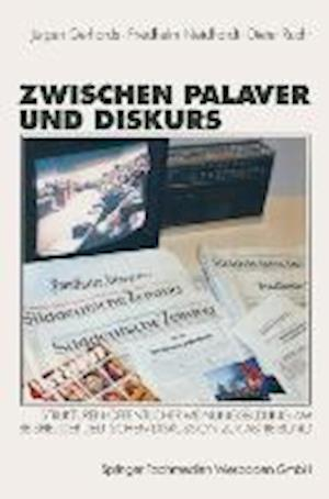 Zwischen Palaver Und Diskurs af Dieter Rucht, Friedhelm Neidhardt, Jurgen Gerhards