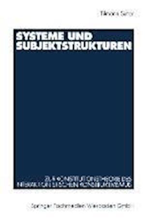 Systeme Und Subjektstrukturen af Tilmann Sutter, Tilmann Sutter