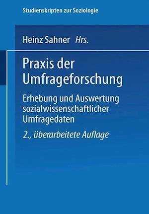 Praxis Der Umfrageforschung af Rolf Porst