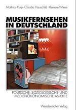 Musikfernsehen in Deutschland af Matthias Kurp