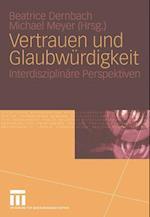 Vertrauen und Glaubwurdigkeit af Beatrice Dernbach