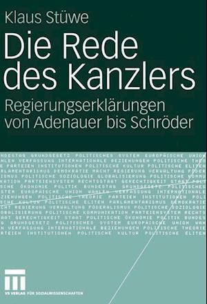 Die Rede Des Kanzlers af Klaus Stuwe