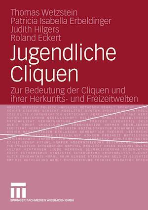 Jugendliche Cliquen af Thomas Wetzstein, Patricia Isabella Erbeldinger, Judith Hilgers