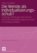 Die Wende als Individualisierungsschub? af Gitta Scheller
