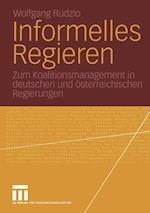 Informelles Regieren af Wolfgang Rudzio