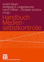 Handbuch Medienselbstkontrolle af Achim Baum