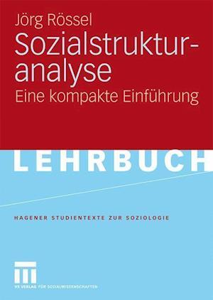 Sozialstrukturanalyse af Jorg Rossel, J. Rg R. Ssel