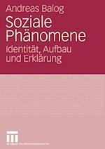 Soziale Phanomene af Andreas Balog