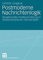 Postmoderne Nachrichtenlogik af G. Nther Lengauer, Gunther Lengauer