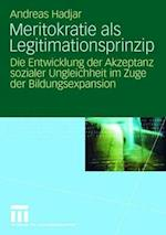 Meritokratie ALS Legitimationsprinzip af Andreas Hadjar