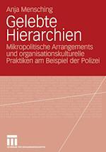 Gelebte Hierarchien af Anja Mensching