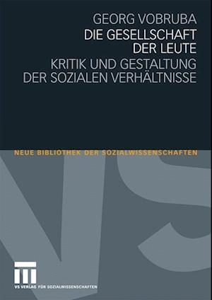 Die Gesellschaft Der Leute af Georg Vobruba