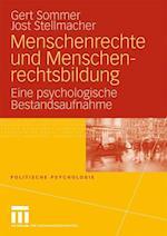 Menschenrechte Und Menschenrechtsbildung af Gert Sommer, Jost Stellmacher