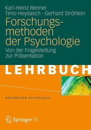 Forschungsmethoden Der Psychologie af Karl-heinz Renner