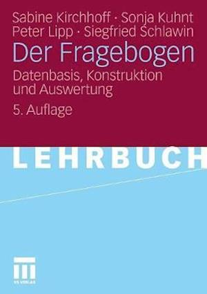 Der Fragebogen af Sabine Kirchhoff, Sonja Kuhnt, Peter Lipp