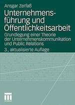 Unternehmensfuhrung Und Offentlichkeitsarbeit af Ansgar Zerfa, Ansgar Zerfass