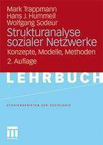 Strukturanalyse Sozialer Netzwerke af Hans-Joachim Hummell, Mark Trappmann, Wolfgang Sodeur