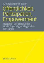 Offentlichkeit, Partizipation, Empowerment af Annika Akdeniz-Taxer