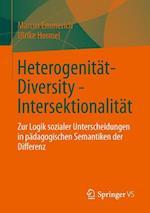 Heterogenitat - Diversity - Intersektionalitat af Ulrike Hormel, Marcus Emmerich