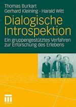 Dialogische Introspektion af Harald Witt, Thomas Burkart, Gerhard Kleining