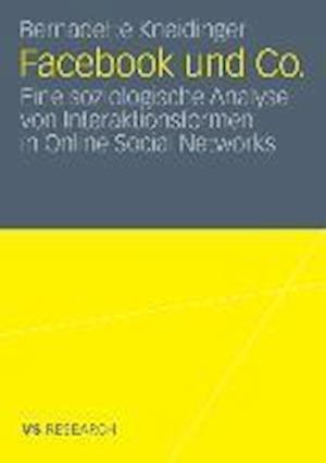 Facebook Und Co. af Bernadette Kneidinger