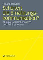 Scheitert Die Ernahrungskommunikation? af Antje Steinberg