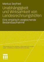 Unabhangigkeit Und Wirksamkeit Von Landesrechnungshofen af Markus Seyfried