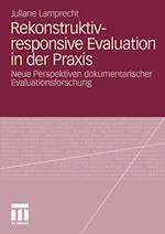 Rekonstruktiv-Responsive Evaluation in Der Praxis af Juliane Engel, Juliane Lamprecht