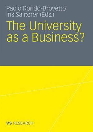 The University as a Business af Iris Saliterer