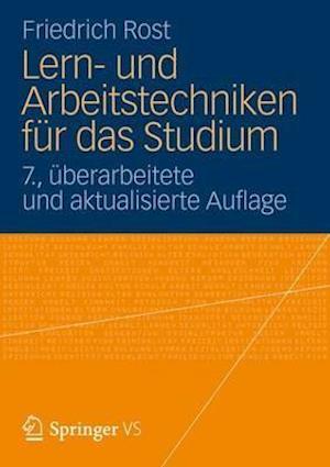 Lern- Und Arbeitstechniken Fur Das Studium af Friedrich Rost