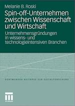 Spin-Off-Unternehmen Zwischen Wissenschaft Und Wirtschaft af Melanie Birgit Roski