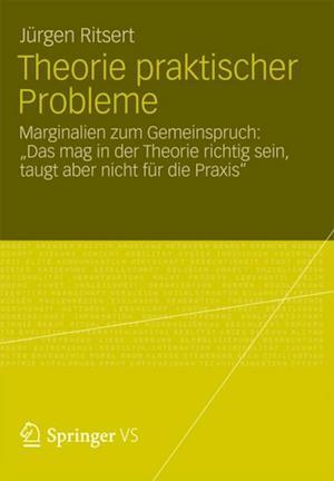Theorie praktischer Probleme af Jurgen Ritsert