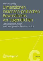 Dimensionen Historisch-Politischen Bewusstseins Von Jugendlichen af Marcus Syring