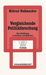 Vergleichende Politikforschung af Hiltrud Nassmacher
