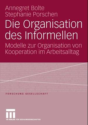 Die Organisation des Informellen af Annegret Bolte, Stephanie Porschen