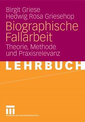 Biographische Fallarbeit af Birgit Griese, Hedwig Rosa Griesehop