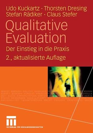 Qualitative Evaluation af Udo Kuckartz, Thorsten Dresing, Stefan Radiker