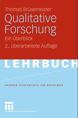 Qualitative Forschung af Thomas Brusemeister
