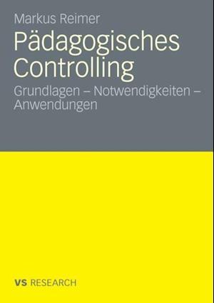 Padagogisches Controlling af Markus Reimer