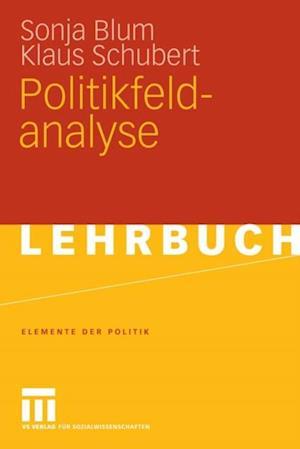 Politikfeldanalyse af Klaus Schubert, Sonja Blum