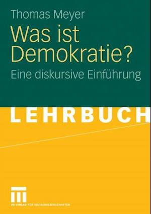 Was ist Demokratie? af Thomas Meyer