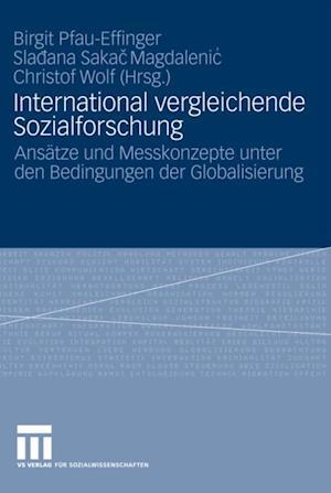 International vergleichende Sozialforschung