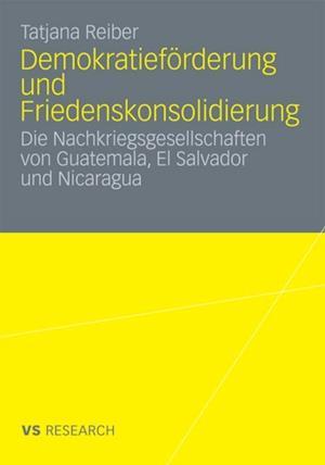 Demokratieforderung und Friedenskonsolidierung af Tatjana Reiber