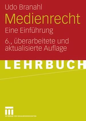 Medienrecht af Udo Branahl
