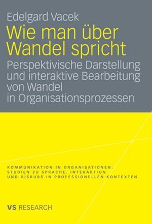 Wie man uber Wandel spricht af Edelgard Vacek