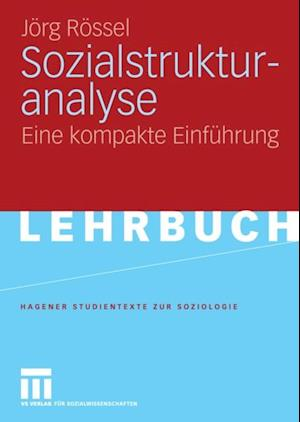 Sozialstrukturanalyse af Jorg Rossel