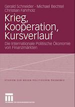 Krieg, Kooperation, Kursverlauf af Gerald Schneider, Michael Bechtel, Christian Fahrholz