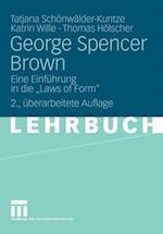 George Spencer Brown af Katrin Wille, Tatjana Schonwalder-Kuntze, Thomas Holscher