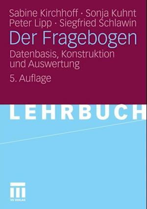 Der Fragebogen af Peter Lipp, Sabine Kirchhoff, Sonja Kuhnt