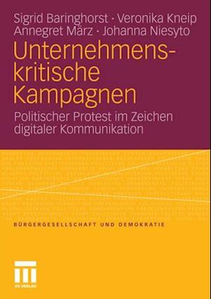 Unternehmenskritische Kampagnen af Sigrid Baringhorst, Veronika Kneip, Annegret Marz